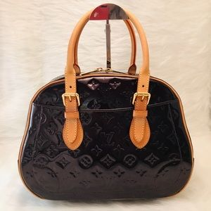 LOUIS VUITTON Monogram Vernis Summit Hill Bag